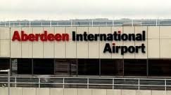 Photo of Aberdeen Airport sign