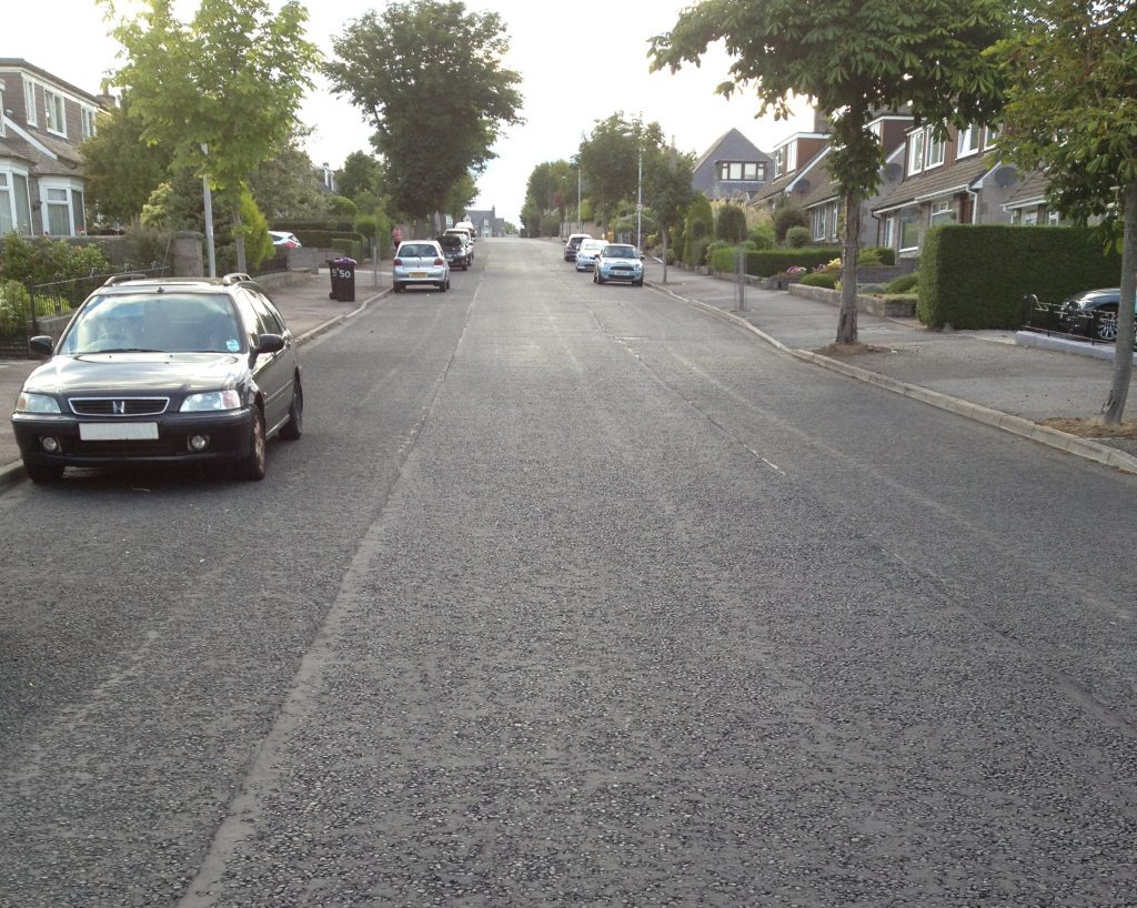Photo of Morningside Road - no speed cushions