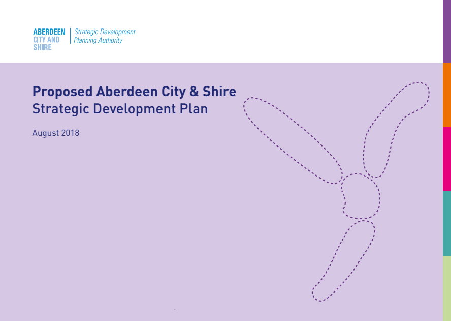 Front cover of Proposed Strategic Development Plan Aug 2018