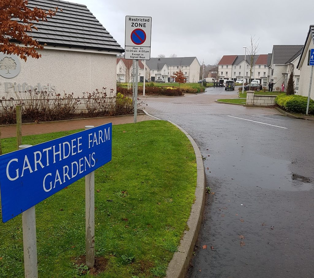 Photo of entrance to Garthdee Farm Gardens