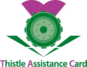 Thistle Assistance Card logo