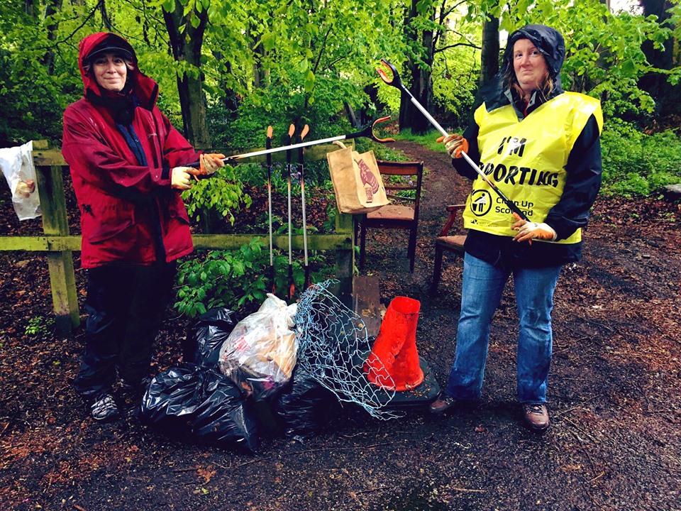 Photo of Ruthrieston Residents Association littler pick
